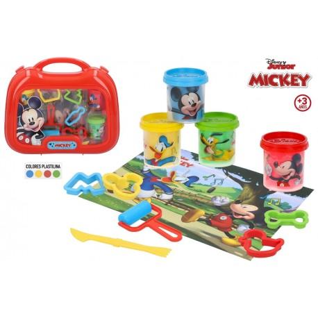 Maletín plastilina Mickey colorbaby (77184)