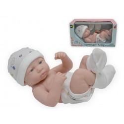 Bebé acostado 33 cm blandito josbertoys (701)