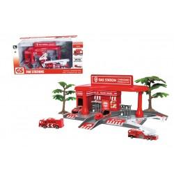Set estación de bomberos josbertoys (297)