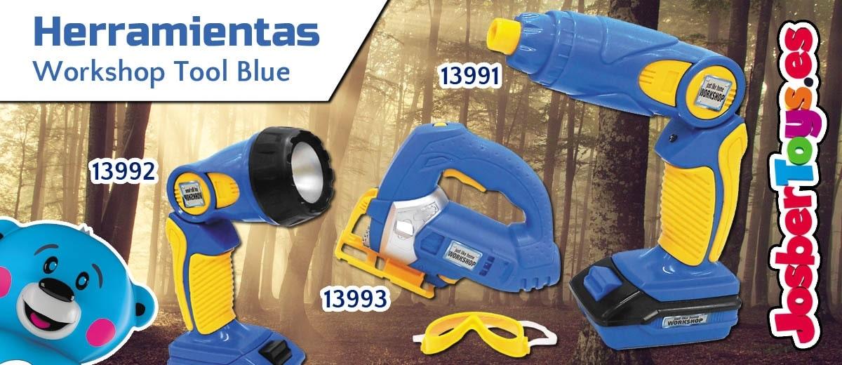 Herramientas juguete Workshop Tool Blue - Josbertoys