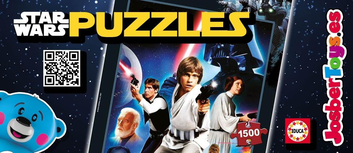 Puzzles Star Wars Educa - Josbertoys