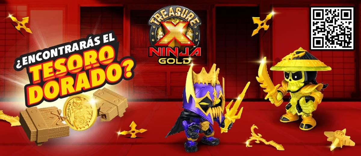 Cajitas Treasure X figuras Ninja Serie 6 en Josbertoys