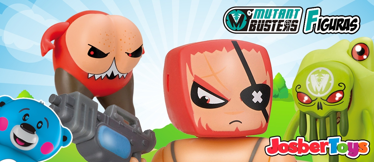 Mutant Busters Figuras