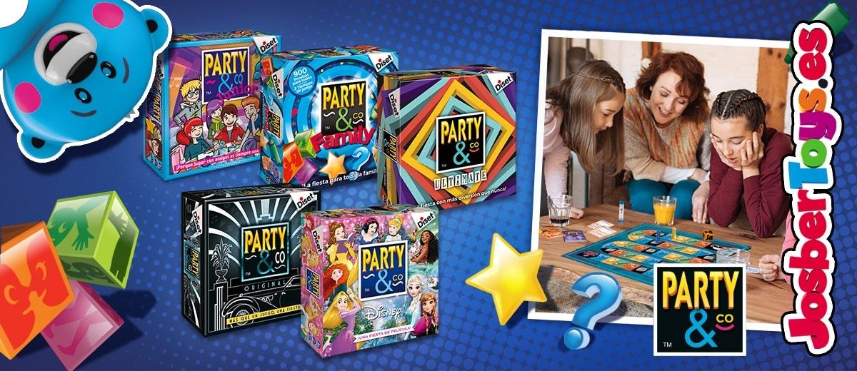 Banner Party & Co diset josbertoys