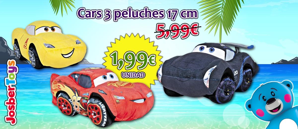 Cars 3 peluches 17 cm