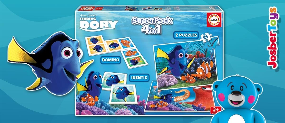 SuperPack 4 en 1 Buscando a Dory