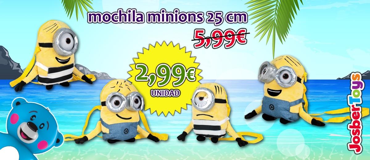Mochilas Minions 25 cm